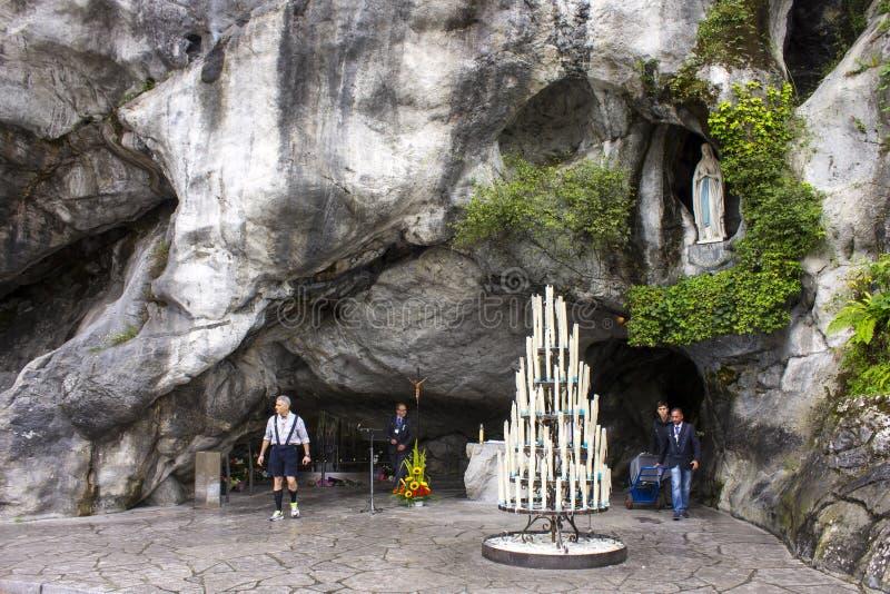 Lourdes, Francia foto de archivo