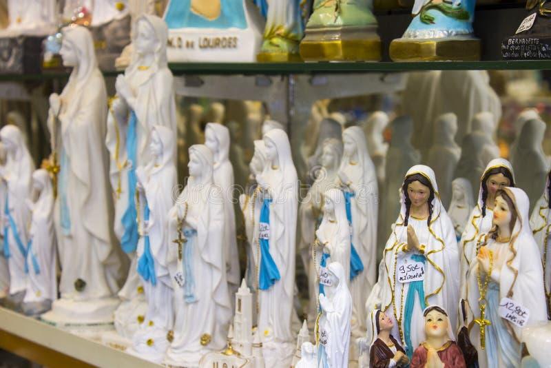 Lourdes, Francia imagenes de archivo