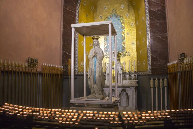 Lourdes, Francia imágenes de archivo libres de regalías