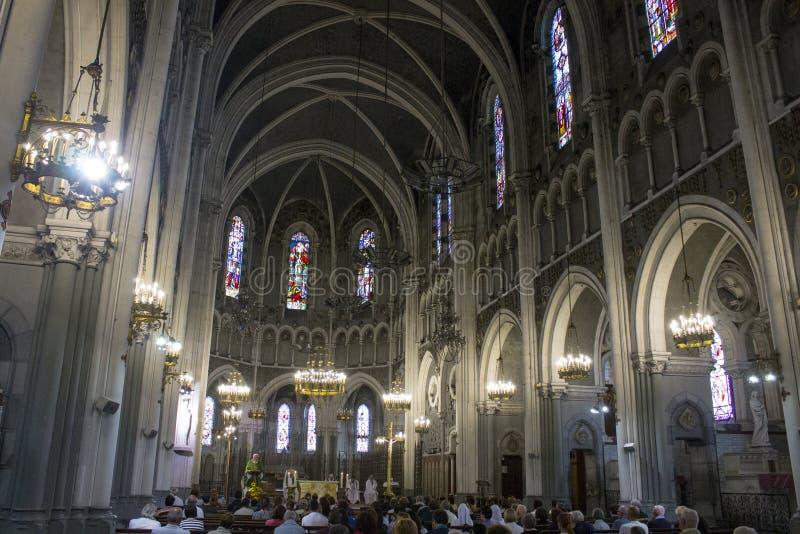 Lourdes, Francja obrazy stock