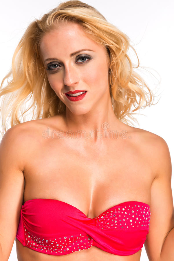 Download Louro foto de stock. Imagem de mulher, adulto, swimwear - 29848630