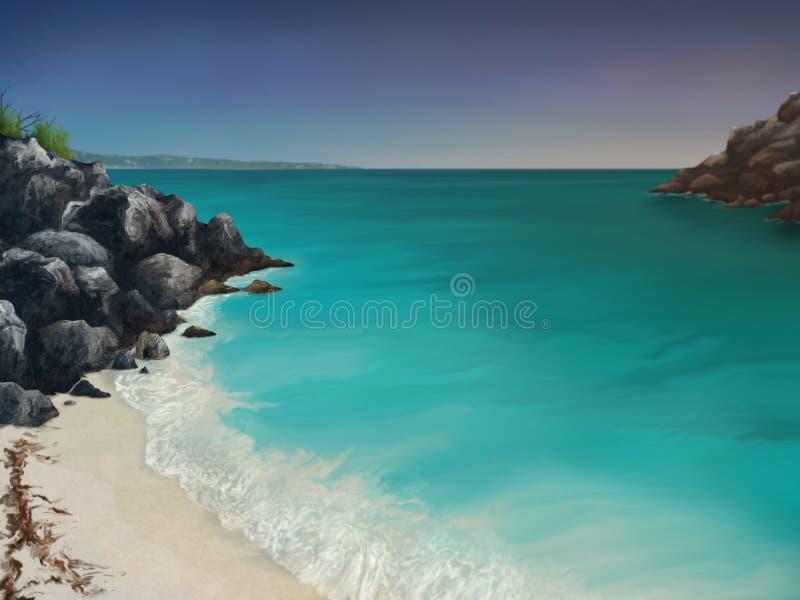 Louro de Aquamarine imagens de stock