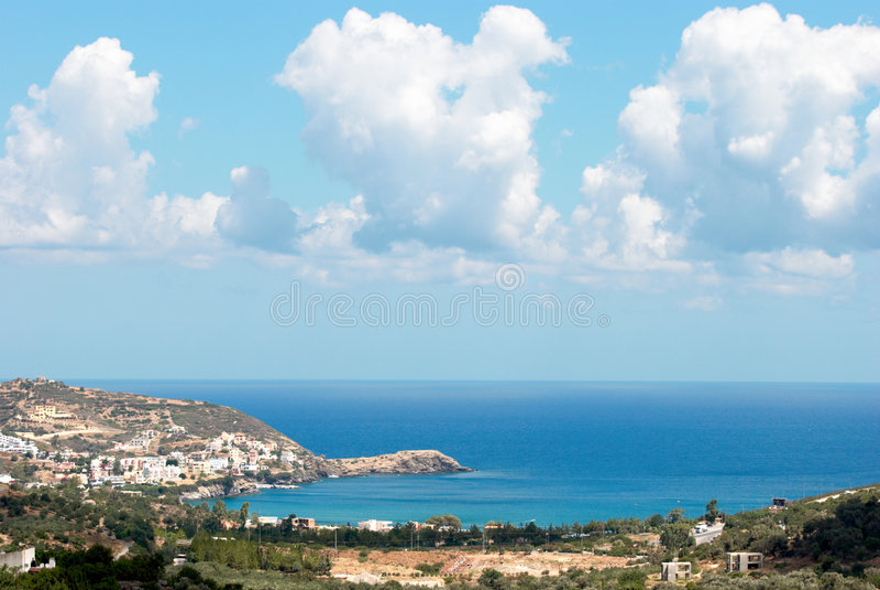 Louro de Bali. Crete. Greece imagens de stock