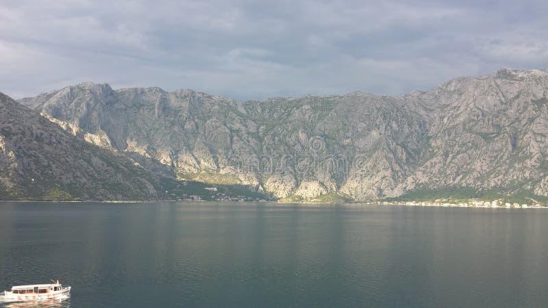 Louro de Kotor, Montenegro fotografia de stock royalty free