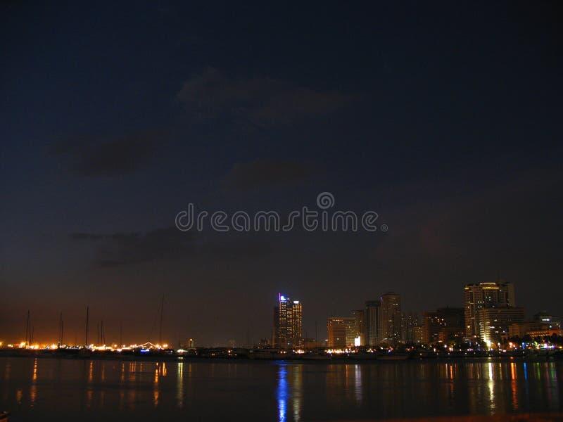 Louro de Manila no crepúsculo imagens de stock royalty free