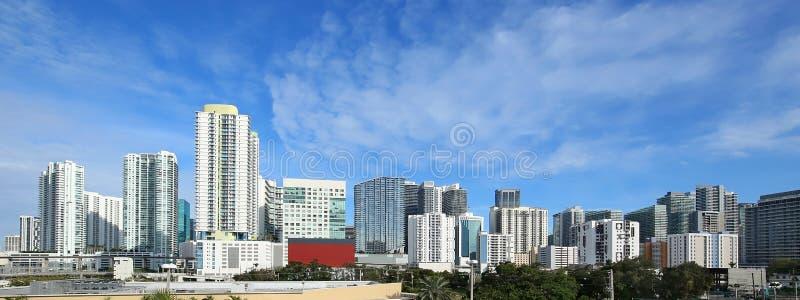 Louro de Miami com Jetski imagem de stock
