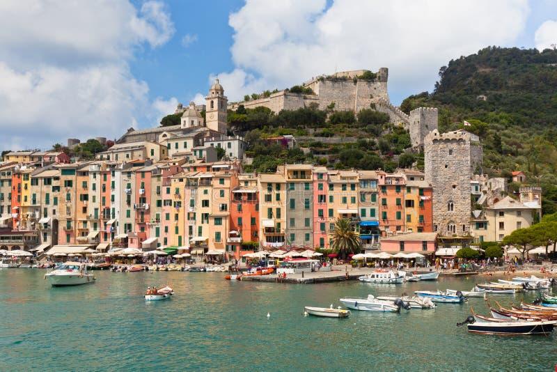 Louro de Portovenere, opinião de Italy imagens de stock royalty free