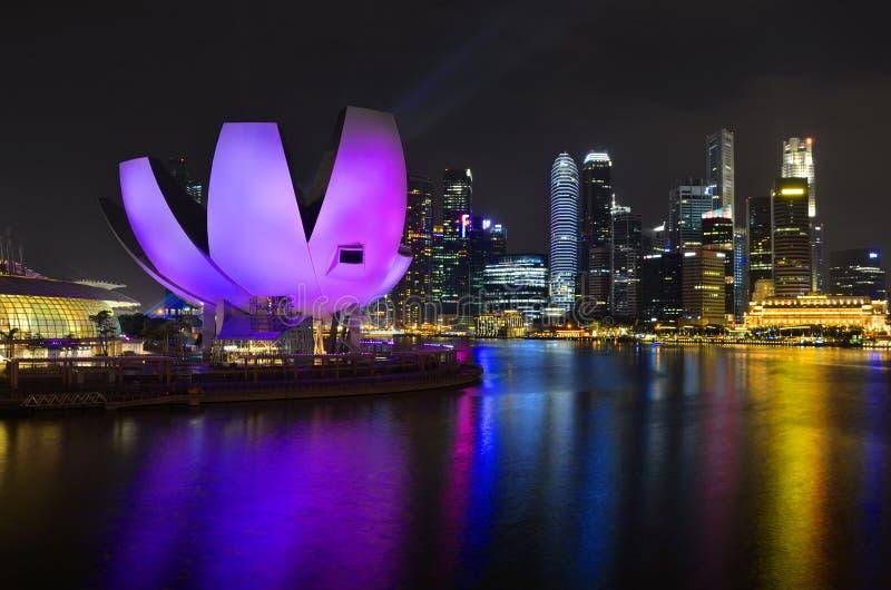 Louro do porto de Singapore fotografia de stock