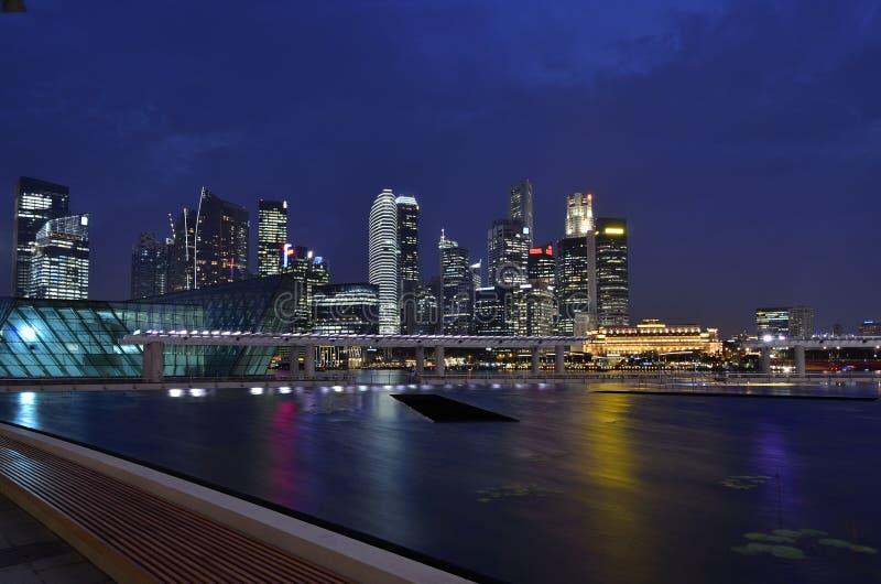 Louro do porto de Singapore fotos de stock
