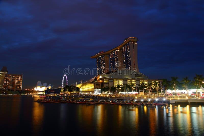 Louro do porto, Singapore foto de stock royalty free