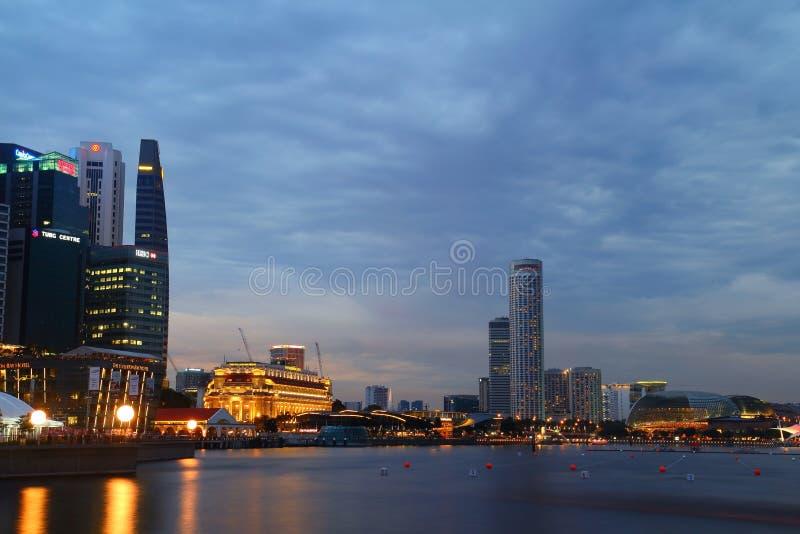 Louro do porto, Singapore fotos de stock royalty free