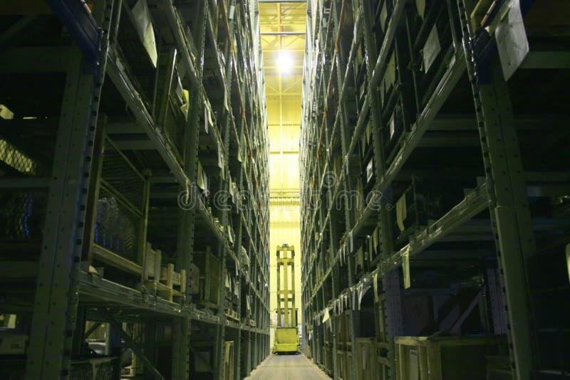Louro industrial do armazenamento. fotos de stock