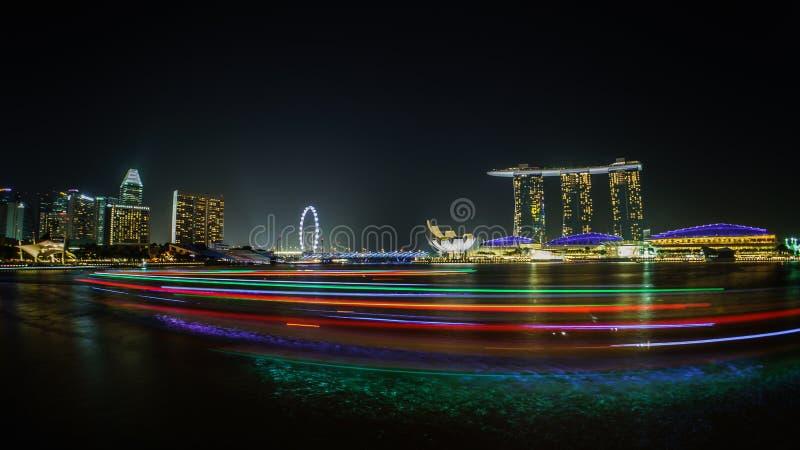 Louro Singapore do porto imagens de stock royalty free