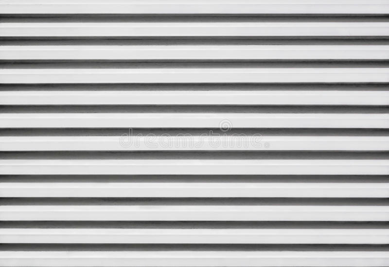 Louver ψευδάργυρου αλουμινίου σχέδιο στοκ φωτογραφία με δικαίωμα ελεύθερης χρήσης