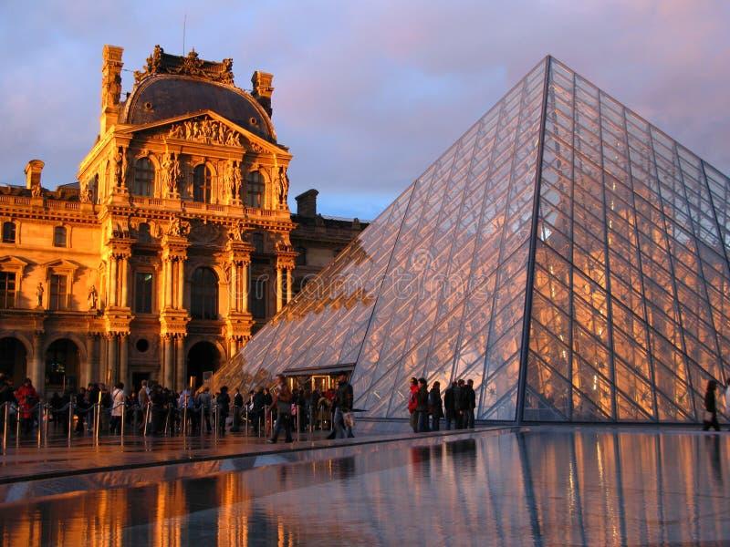 Louvre 03, Parijs, Frankrijk royalty-vrije stock afbeelding