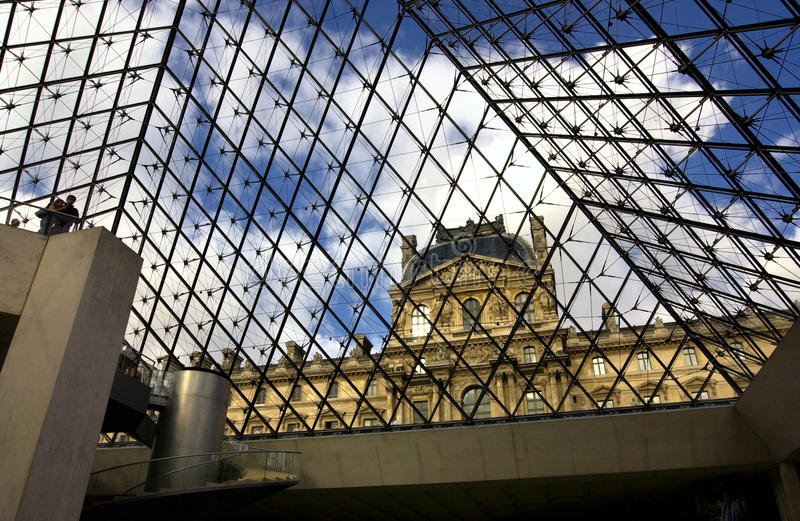 Download Louvre editorial photography. Image of museum, blue, french - 18883392