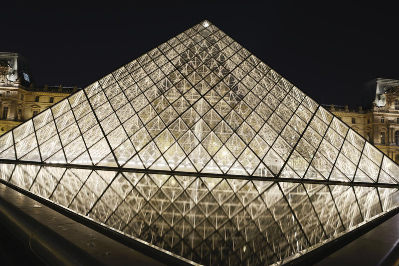 Download Louvre editorial photography. Image of metropolis, french - 27008927
