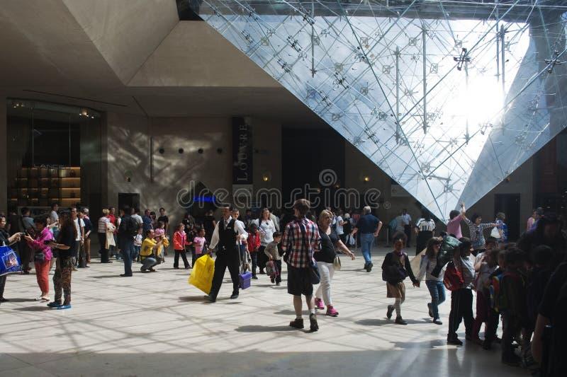Louvre fotografie stock libere da diritti