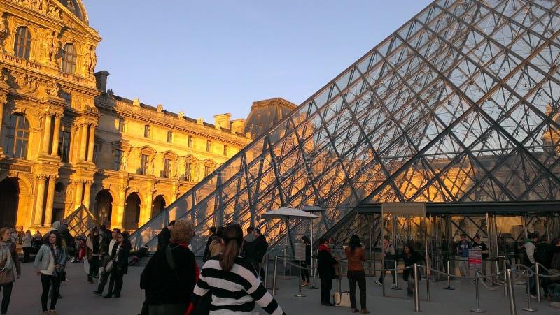 Louvre royalty-vrije stock foto