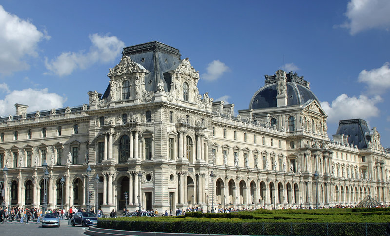 Download Louvre stock image. Image of museum, historic, france - 6967543