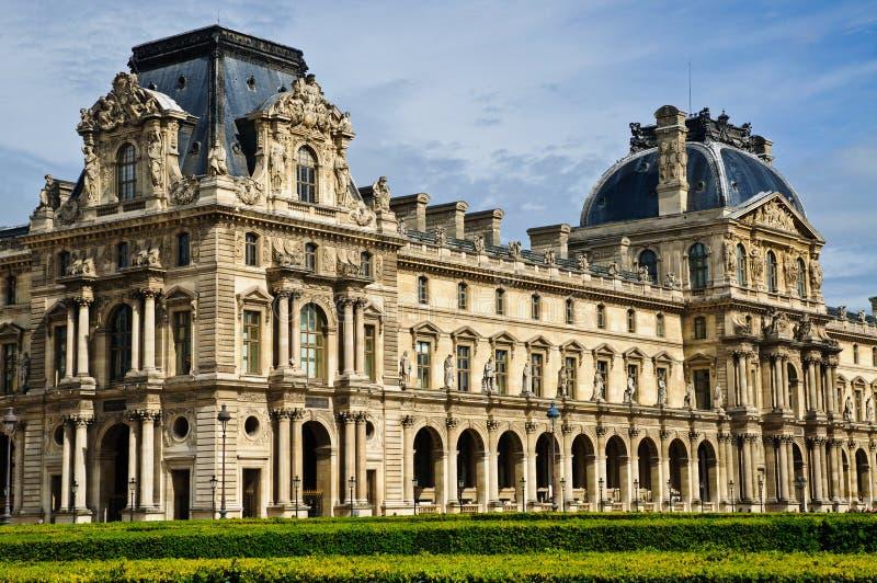 Louvre art museum stock image