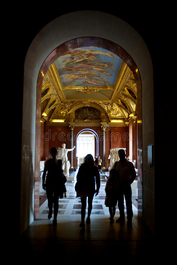 Download Louvre editorial image. Image of vintage, capital, indoor - 33266105