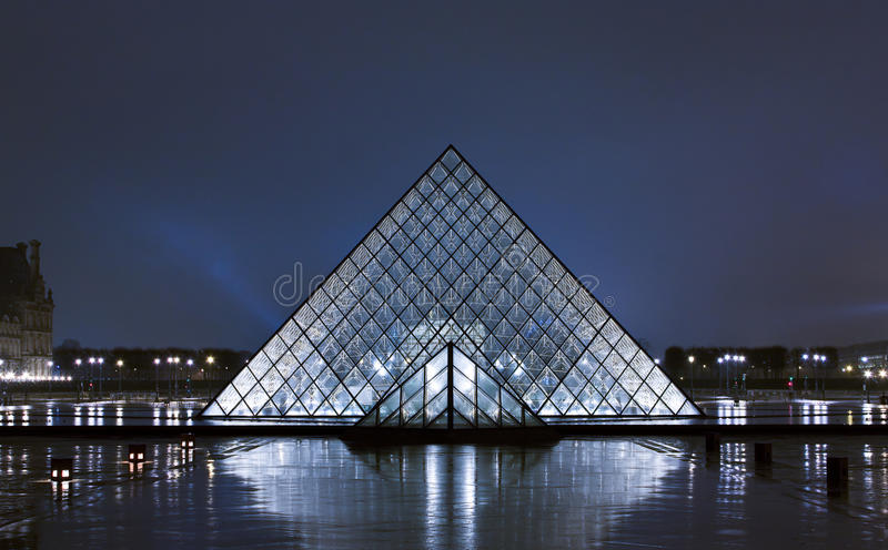Louvre Museum stock photos