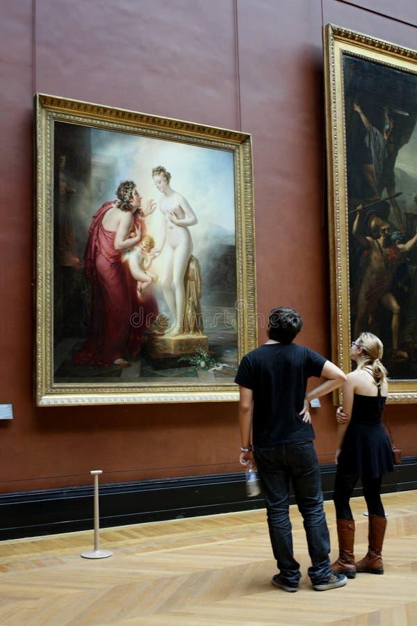 Louvre Museum, Paris royalty free stock photos