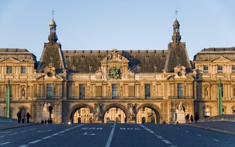 Download Louvre Museum, Paris editorial stock photo. Image of pont - 9613568