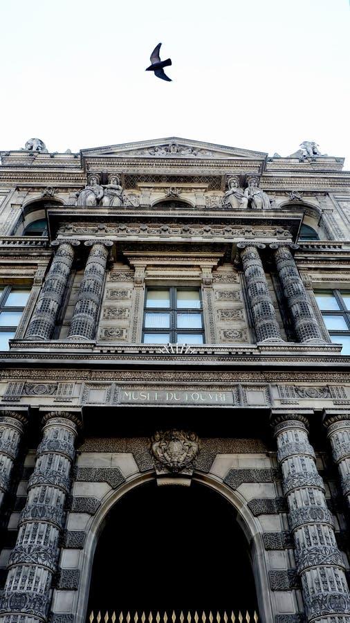 Louvre Musuem stockfotografie