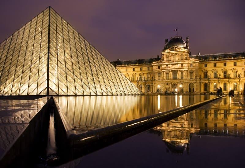 louvre muzeum obrazy royalty free