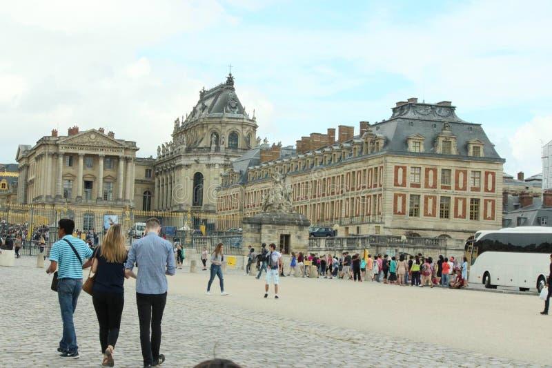 Louvre muzeum Francja zdjęcie stock