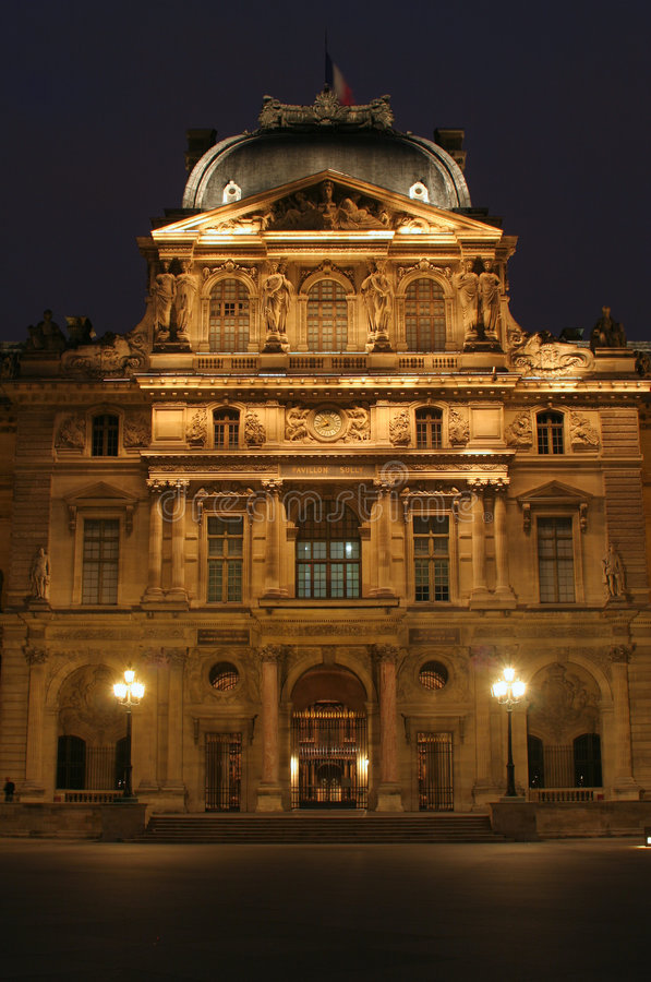 Download Louvre palace stock photo. Image of museum, france, palace - 5543346