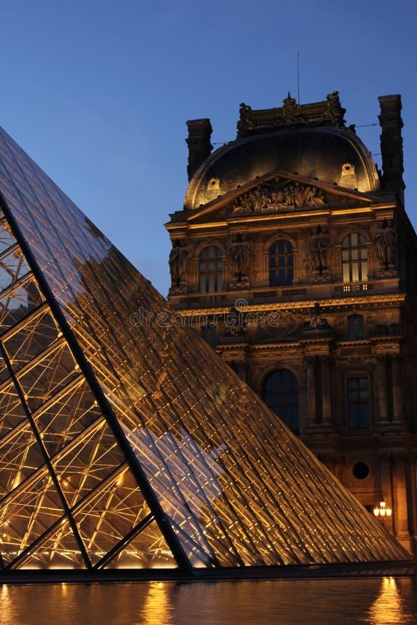 Louvre, Parijs royalty-vrije stock afbeelding