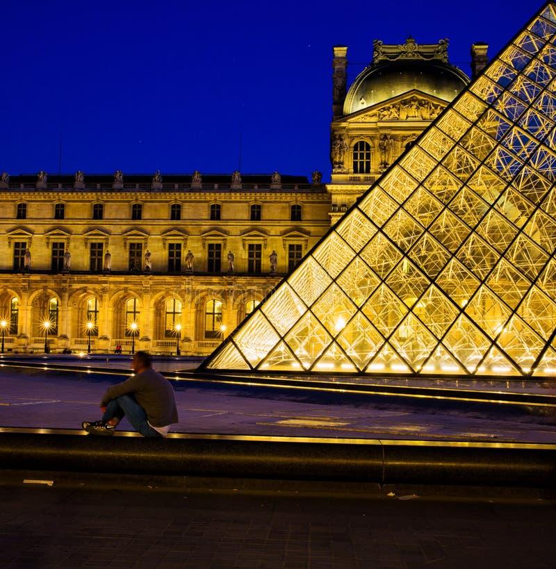 Louvre Parijs royalty-vrije stock foto's