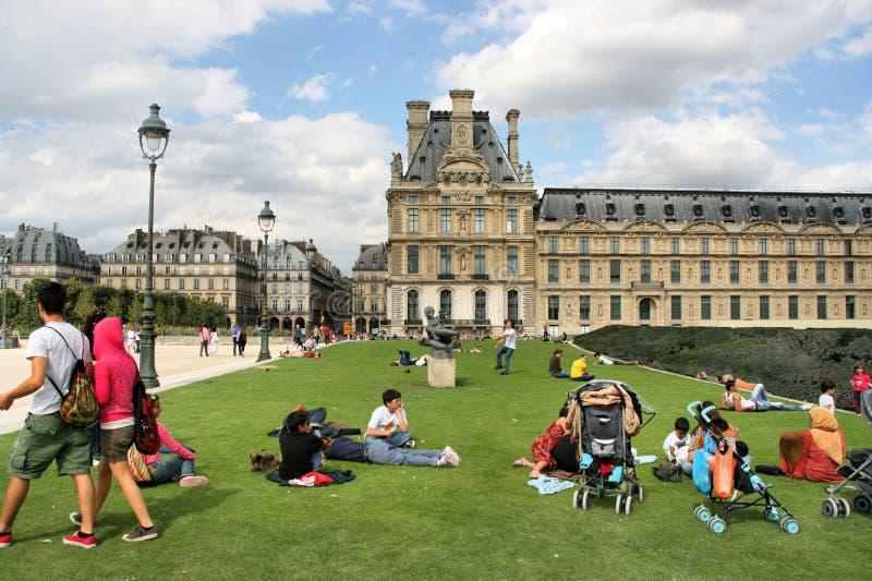 Louvre, Paris Editorial Stock Photo