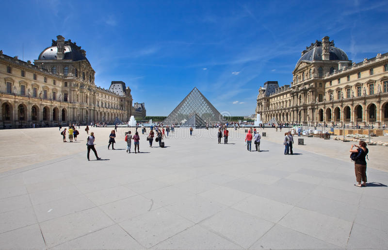 Louvre, Paris royalty free stock photo