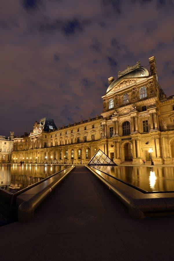 louvre Paris obraz royalty free