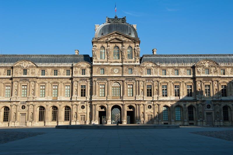 Louvre Paris Stock Photo