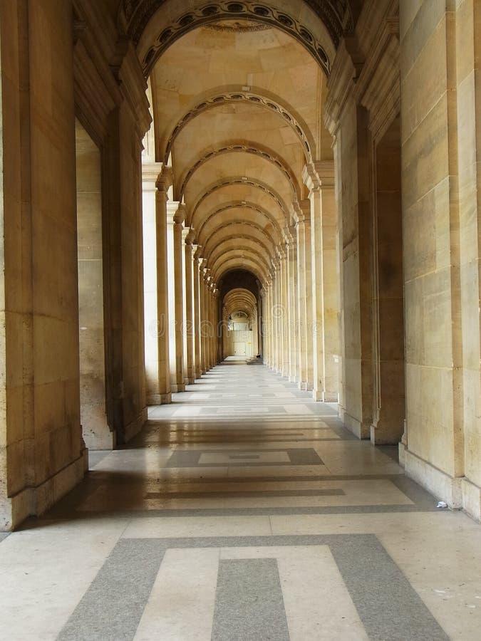 Louvremuseum som är elegant, paris, Frankrike, Europa, ingång, royaltyfri fotografi