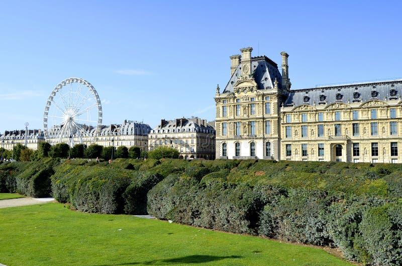 Louvres museum, paris stock photography