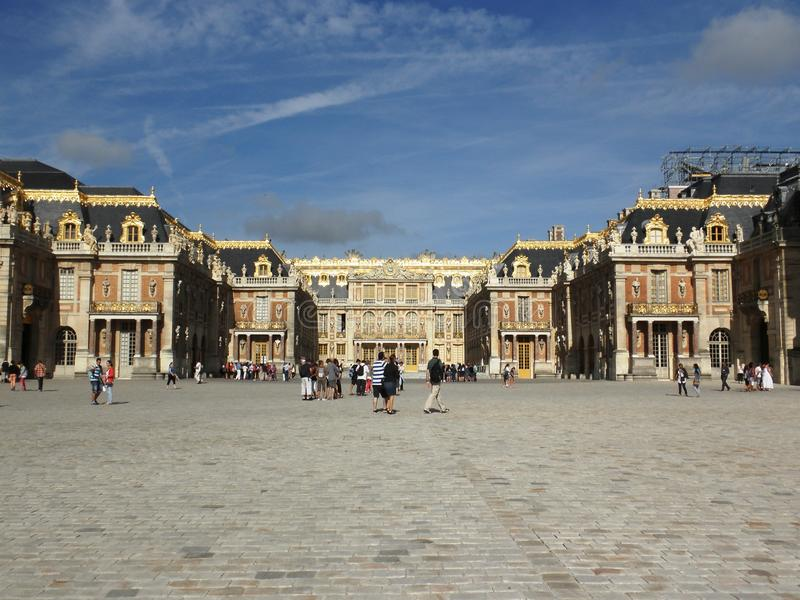 Louvrevierkant stock foto's