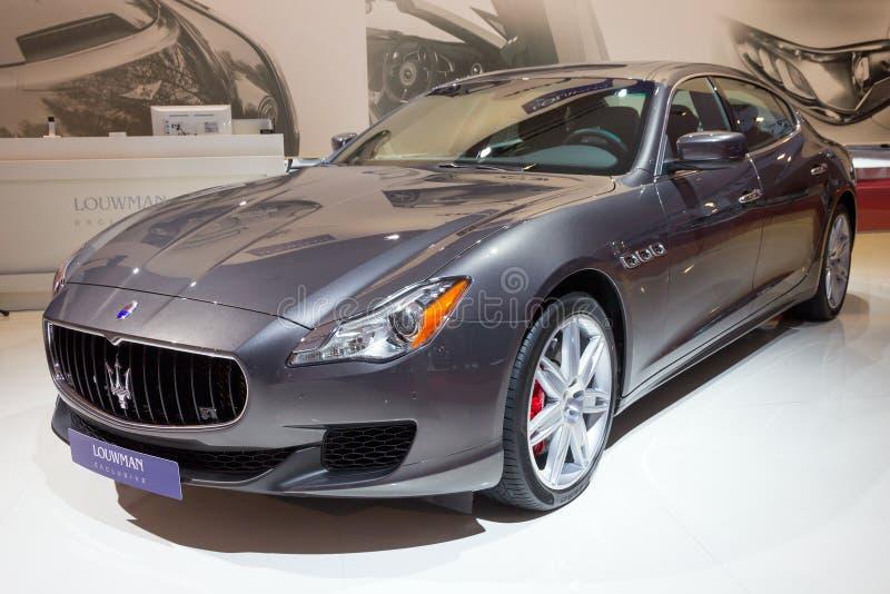 Louwman αποκλειστικό Maserati Quattroporte στοκ φωτογραφία με δικαίωμα ελεύθερης χρήσης