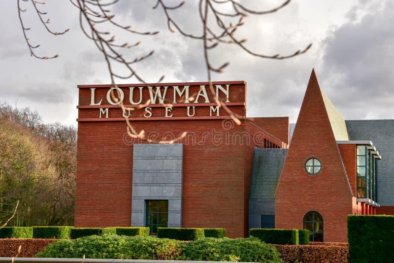 Louwman car museum royalty free stock images