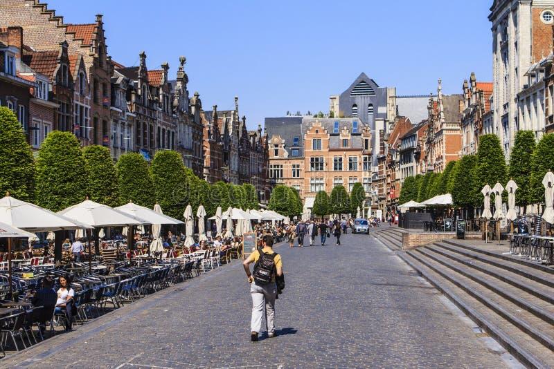 Lovaina, Bélgica fotografia de stock