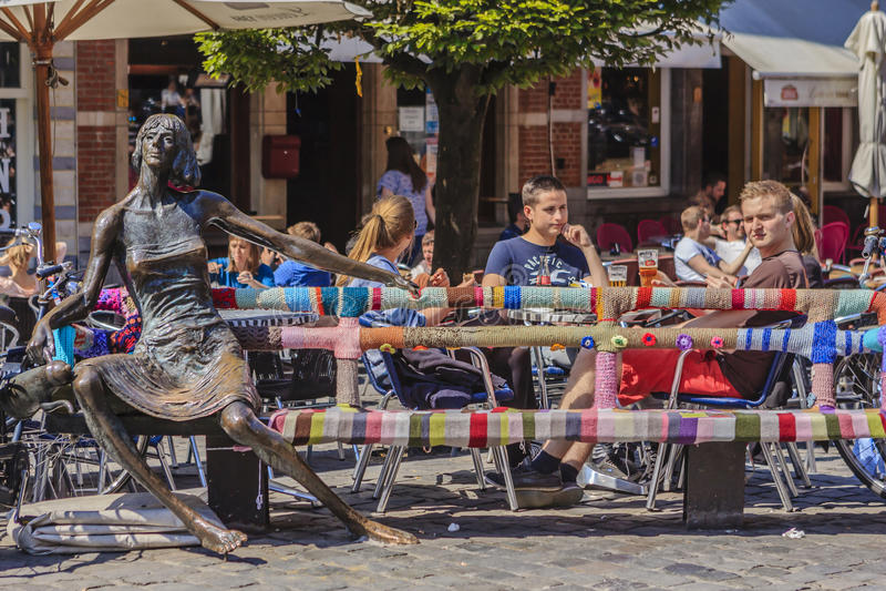 Lovaina, Bélgica fotos de archivo