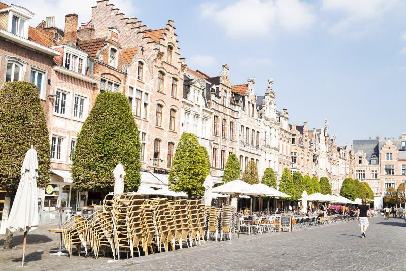 Lovaina, Flemish Brabante, Bélgica imagens de stock