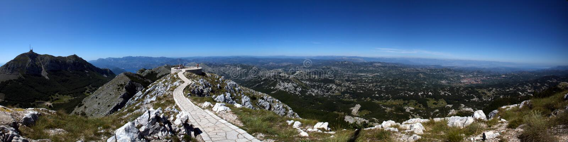 Download Lovcen szczyt zdjęcie stock. Obraz złożonej z montenegro - 10754058