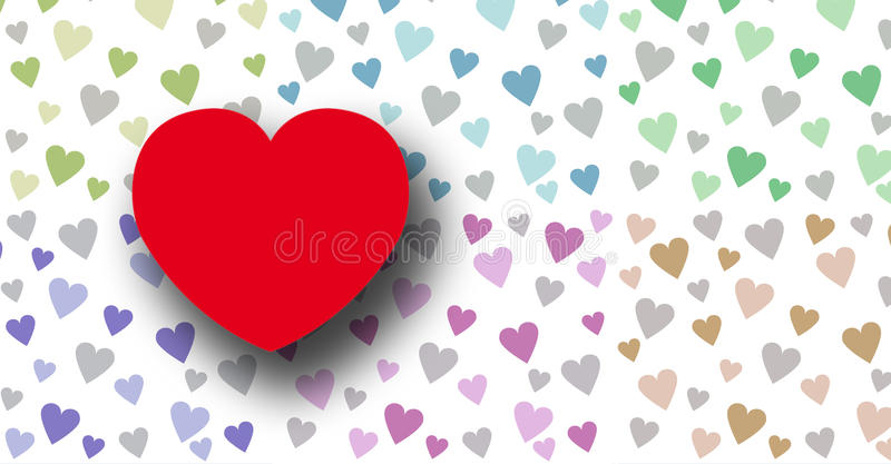 Download LOVE stock illustration. Illustration of shape, nobody - 11133869