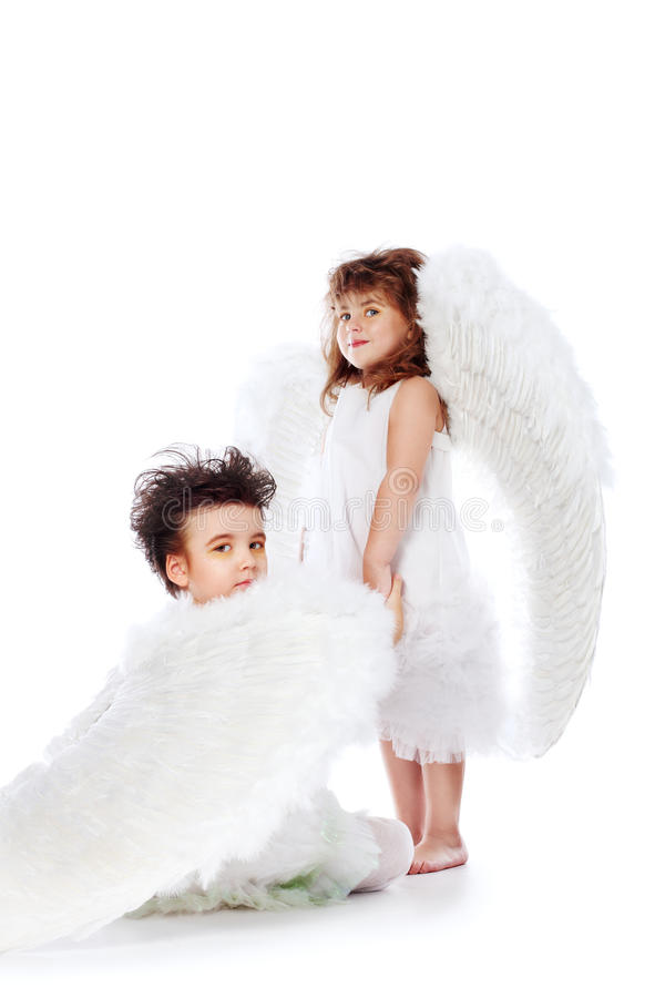 Download Love stock image. Image of baby, girl, angel, isolated - 12614201